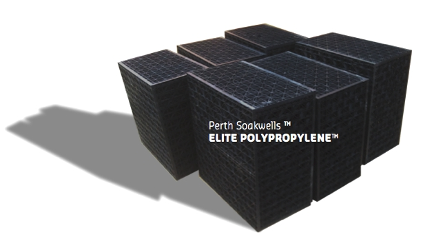 Elite Poly soakwells patented by Perth Soakwells