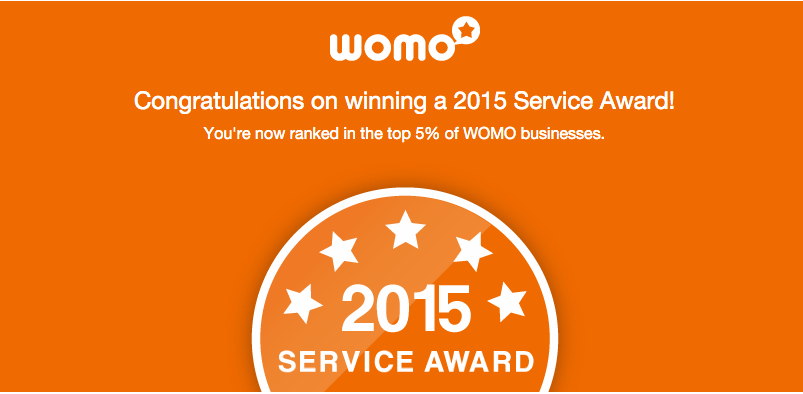 Perth Soakwells 2015 WOMO Award top 5%