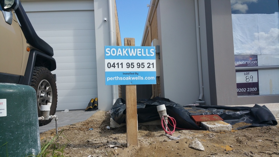 Soakwells Perth installed by Perth Soakwells 0411959521