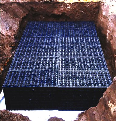 A polypropylene soakwell installation Perth