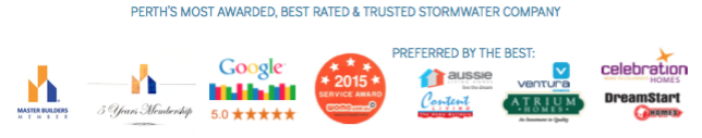 Perth's most Awarded &  Highly Reviews Soakwells Perth Company