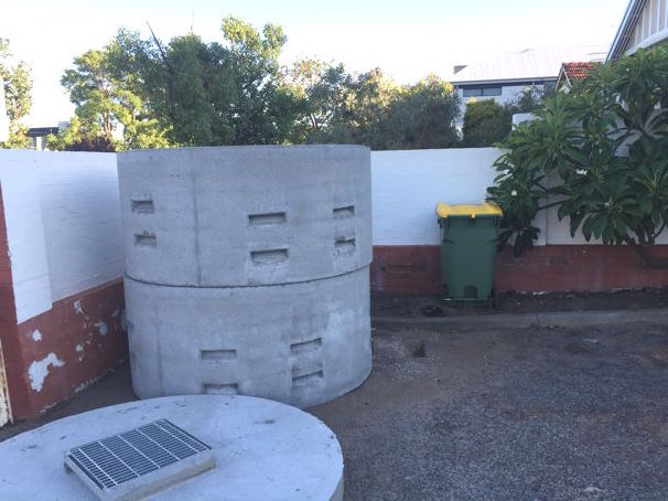 Stormwater Drainage tanks or Soakwells 1800x1800