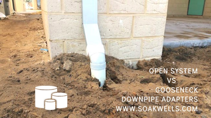 DOWNPIPE ADAPTER not recommend by Perth Soakwells