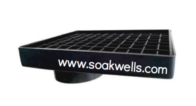 offset collar and grate by Perth Soakwells Pty Ltd