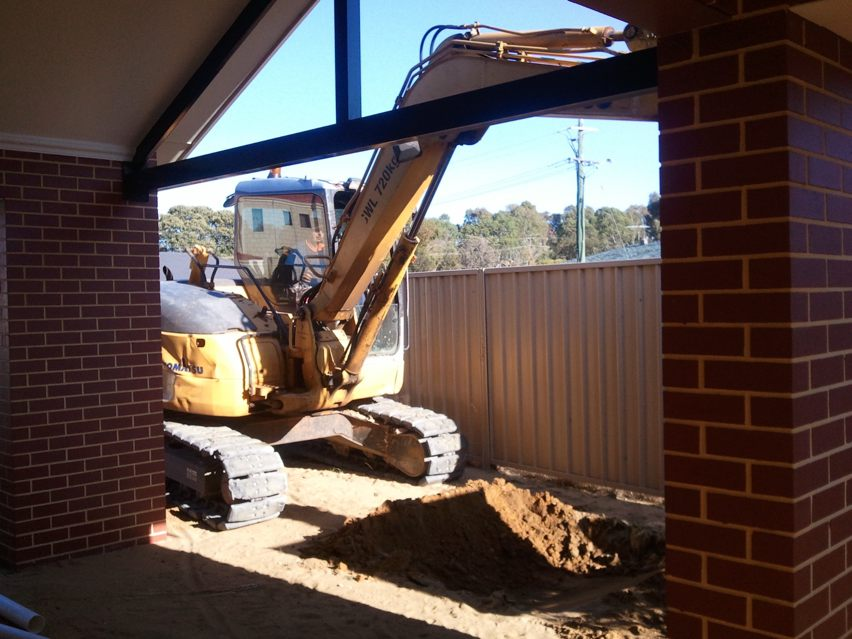 Soakwell & Stormwater installation in Baldivis