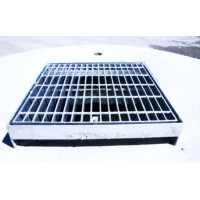 Galvanised grated cover for soakwell 1800mm
